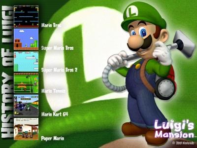 Luigi Backloggery by luigiman2201