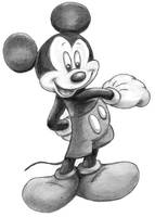mickey mouse by yurodollar