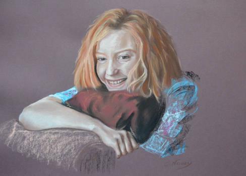 Mia Wasikowska's portrait 1