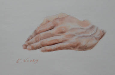 Tom's Hand 17 'OLLA's pose' by Andromaque78