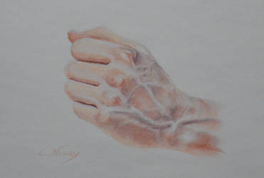 Tom's Hand 22 'Waiting' by Andromaque78