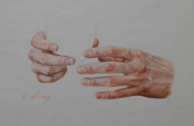 Tom's Hand 25 'Champagne' by Andromaque78