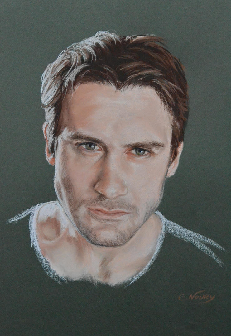 Clive Standen's full portrait 'Heforshe' by Andromaque78