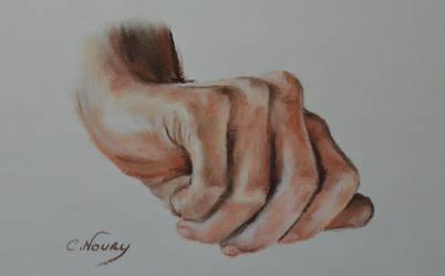 Tom's Hand 43 'Wet'