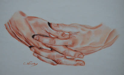 Tom's Hand 46 'Pull yourself together'