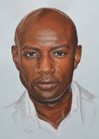 David Gyasi Portrait by Andromaque78