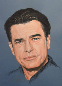 Peter Gallagher full portrait 'Heforshe'