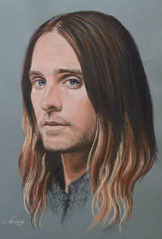 Jared Leto full portrait 'Heforshe'