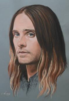 Jared Leto full portrait 'Heforshe'