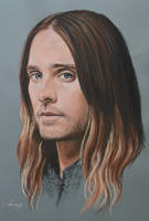 Jared Leto full portrait 'Heforshe' by Andromaque78