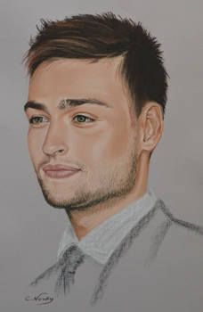 Douglas Booth  full Portrait Heforshe