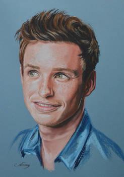 Eddie Redmayne full portrait 'Heforshe'