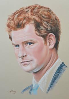 Prince Harry Windsor full portrait 'Heforshe'