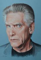 David Cronenberg portrait by Andromaque78