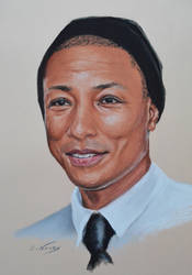 Pharrell Williams by Andromaque78