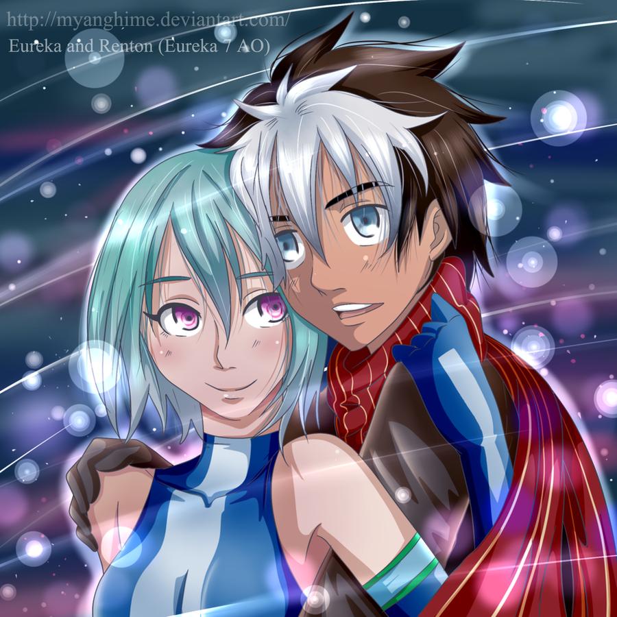 Eureka and Renton (Eureka 7 AO) by MyangHime