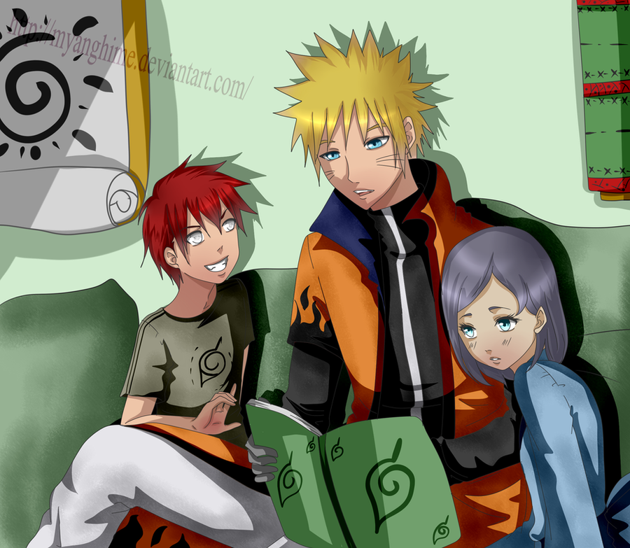 Naruto Storytell by MyangHime