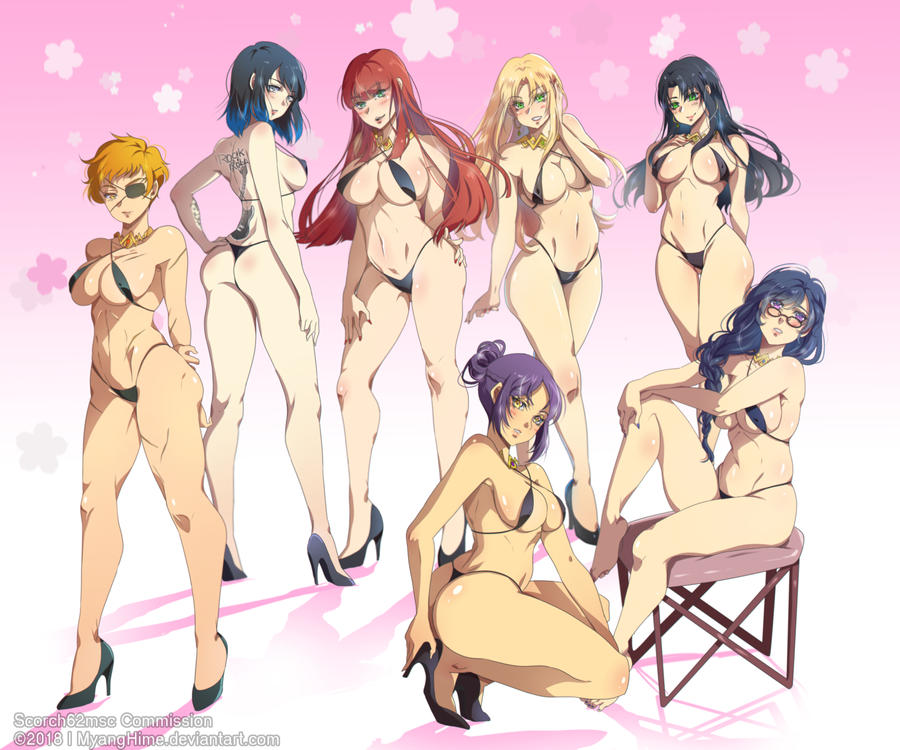[Bleach] Scorch Harem 1 of 3 by MyangHime