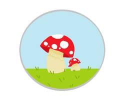 mushrooms chillin