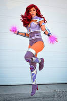Armored Starfire by Becs-Cos-Wonderland