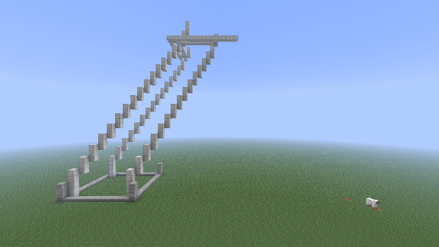 minecraft eiffel tower instructions