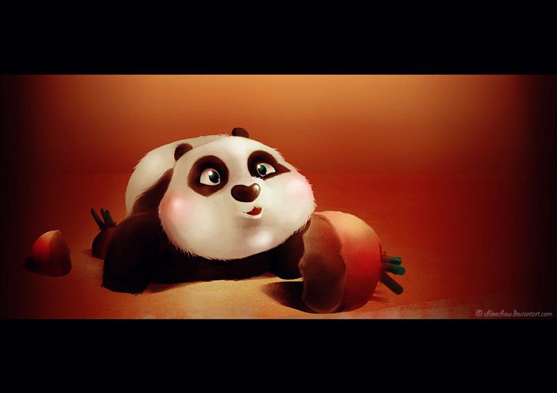 Kung Fu Panda Baby Po By ChloeChew