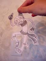 Paper Child-- Spheira by pettyartist