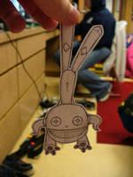 Paper Robot by pettyartist