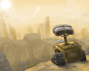 WALL-E-- Speedpaint