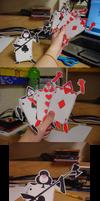 Paper Card Guards by pettyartist