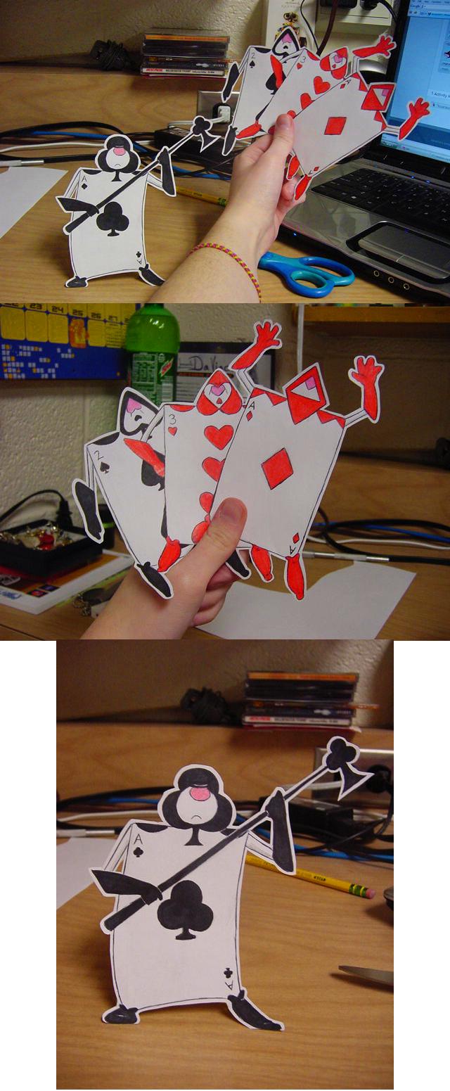 Alice In Wonderland Characters Disney Card Guards Paper card guards byAlice In Wonderland Characters Disney Card Guards