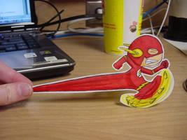 Paper Flash by pettyartist