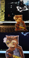 Paper Nite Owl by pettyartist