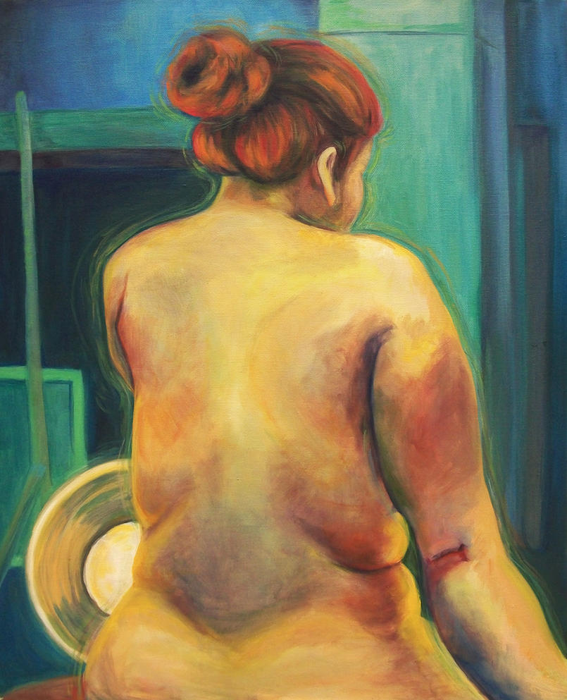 painting ii  nude model back by pettyartist d33250o Mature Women Hi people this time i have made a post about ladies above 30, ...