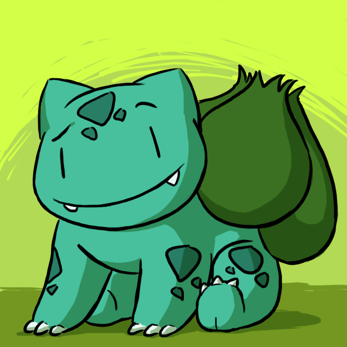 RNG- Bulbasaur by pettyartist
