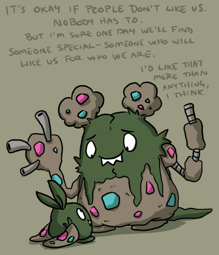 Garbodor- Someone Special by pettyartist