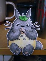Paper Totoro by pettyartist