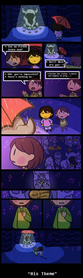 Memory [UNDERTALE SPOILERS]
