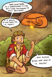 Pokemon Ranger Irwin by pettyartist