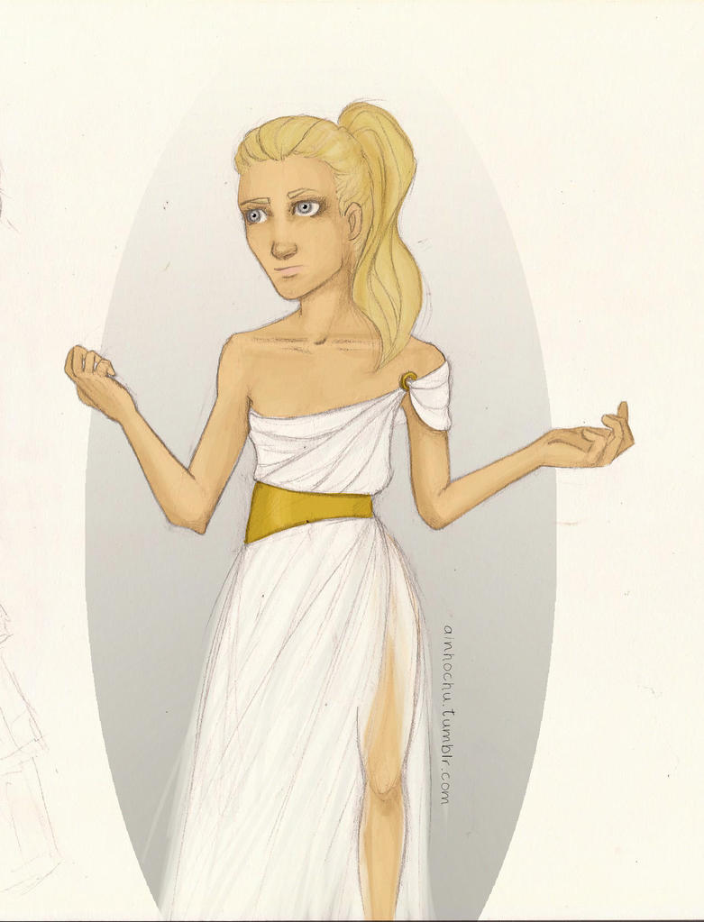 The daughter of Athena by Ainhochu