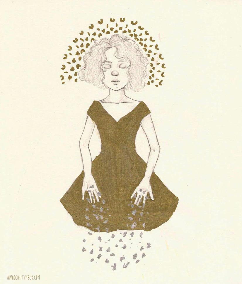 The golden daughter by Ainhochu