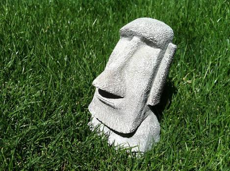 Moai - Easter Island Statuette 2
