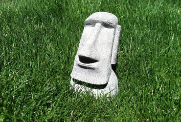 Moai - Easter Island Statuette 3