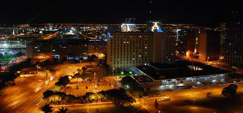 Brasilia at Night by altieresrohr