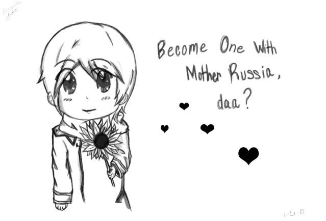 Russia by Gessho-Sama