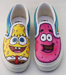 Spongebob and Patrick by Jboogieman