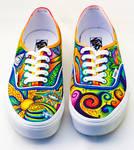 Trippy shoes by Jboogieman