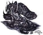 .: -Dragon Beast - Permanent marker only- :.