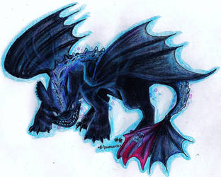 .:-Toothless-How To Train Your Dragon 2- Alpha-:. by PrideAlchemist7