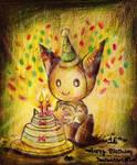 .: -Happy 16th Birthday Deviantart!~- :.